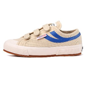 [EXCLUSIVE] 2750-COT3STRAPU PANATTA Ecru-Royal_S00B220913